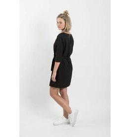 Zusss sjiek jurkje met centuur zwart L/XL