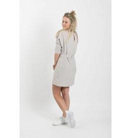 Zusss sjiek jurkje met centuur krijt L/XL