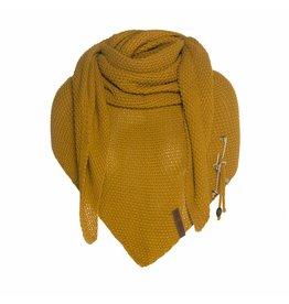 Knit Factory Omslagdoek / sjaal Coco Oker