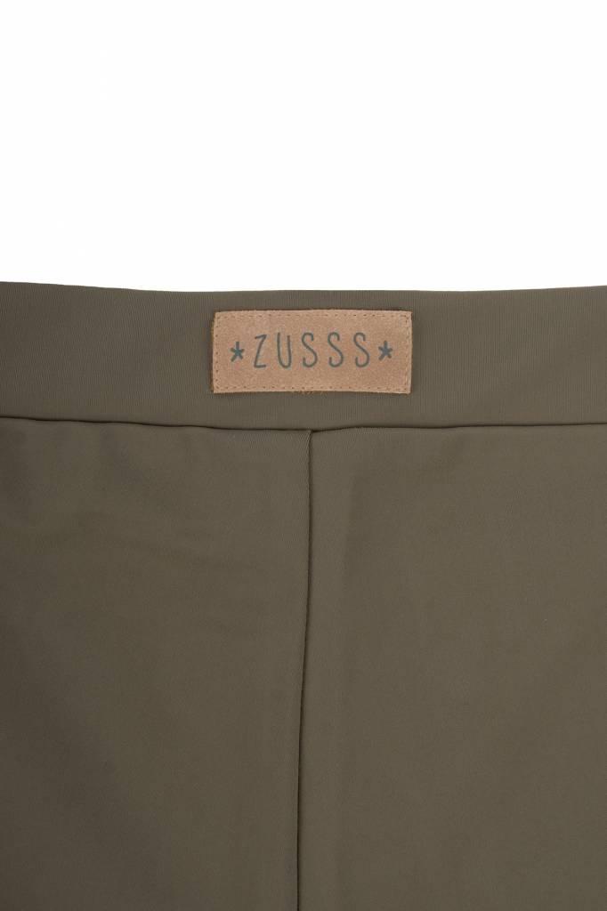 Zusss Gladde legging leemgroen L/XL