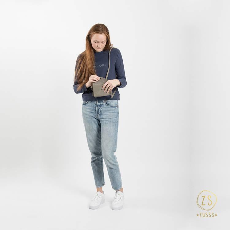 Zusss Stoere trui - nachtblauw S/M