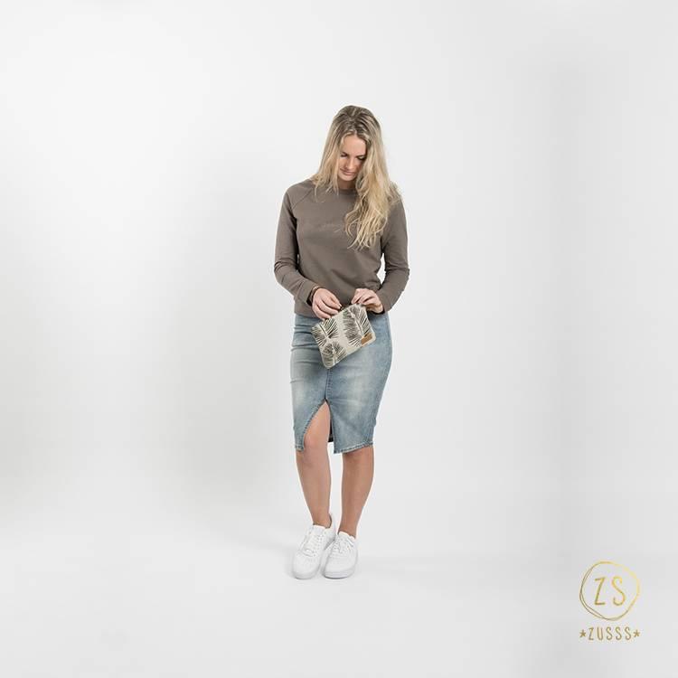 Zusss Stoere trui - leemgroen M/L