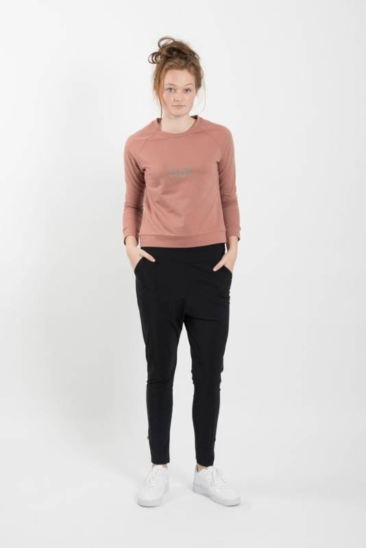 Zusss makkelijke broek- zwart L/XL