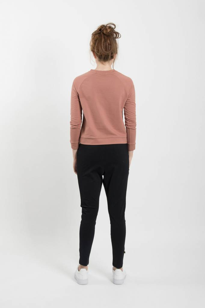 Zusss makkelijke broek- zwart S/M