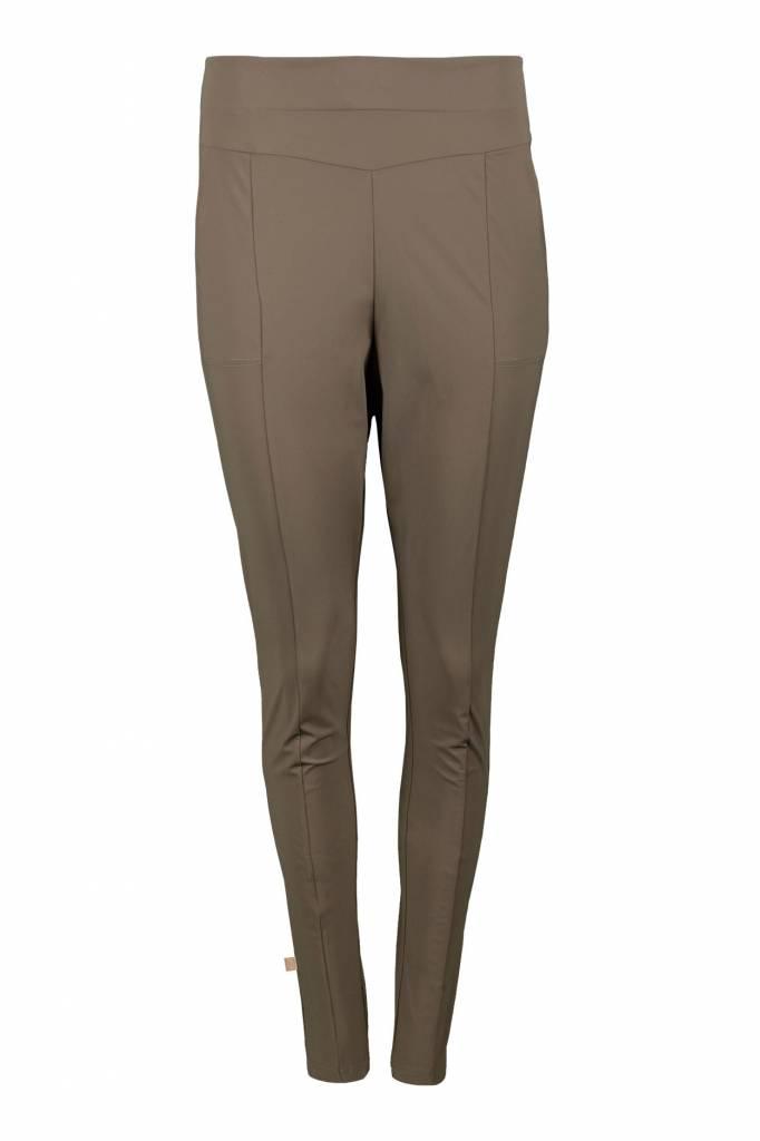 Zusss makkelijke broek- leemgroen S/M