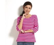 Bretonse streepshirt dames 3/4e mouw