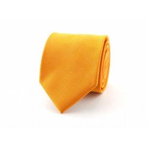 Zijden stropdas - Oranje