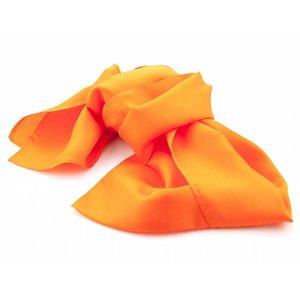 Zijden sjaal - Oranje