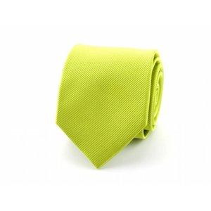 Zijden stropdas - Lime