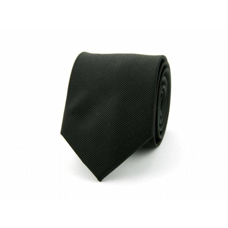 Zijden stropdas - Zwart