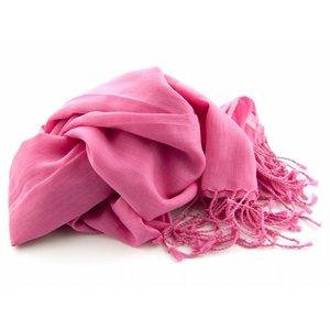 Pashmina sjaal - Fuchsia
