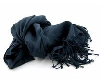 Pashmina sjaal - Donkerblauw