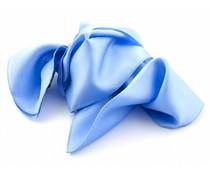Zijden sjaal - Lichtblauw