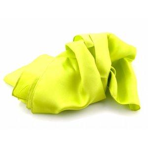 Zijden sjaal - Limegroen