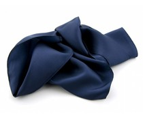 Zijden sjaal - Donkerblauw