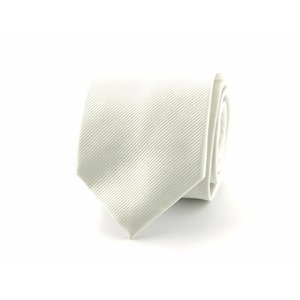 Zijden stropdas - Wit