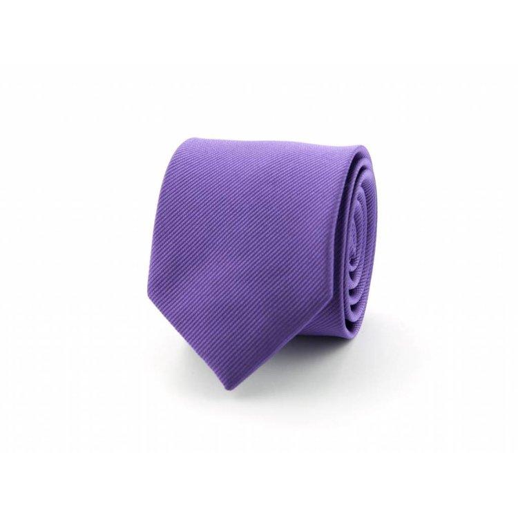 Zijden stropdas - Paars