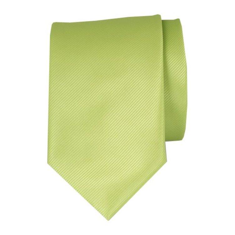 Polyester stropdas - Limegroen