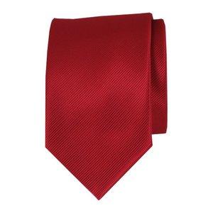 Polyester stropdas - Middenrood