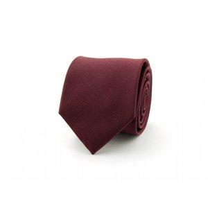 Zijden stropdas - Bordeaux