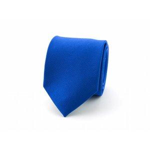Zijden das - Kobaltblauw