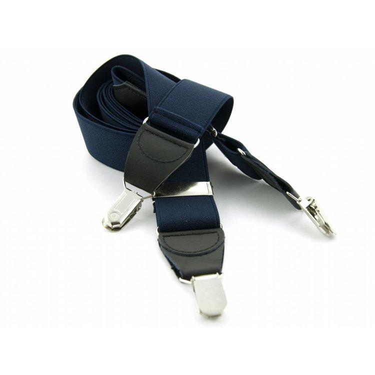 Bretels elastiek 35mm Donkerblauw