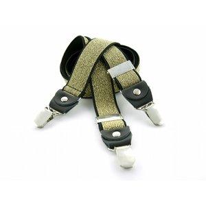 Bretels elastiek 35mm Goud