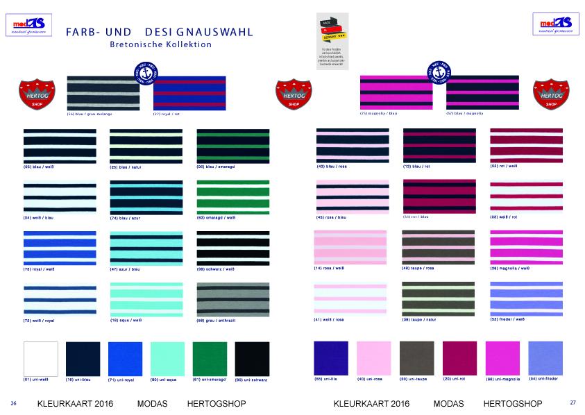 Klik hier voor de kleurkaart