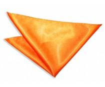 Pochet polyester-satijn Oranje