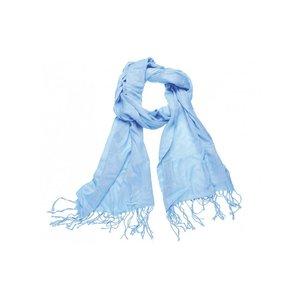 Pashmina sjaal Viscose - Lichtblauw