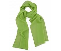 Sjaal Premium Limegroen