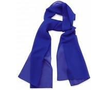 Sjaal Premium Kobaltblauw