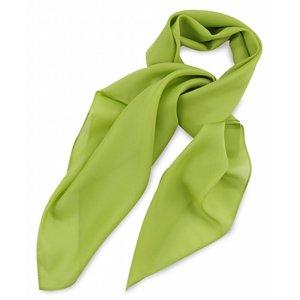 Polyester sjaal Limegroen 75x75cm