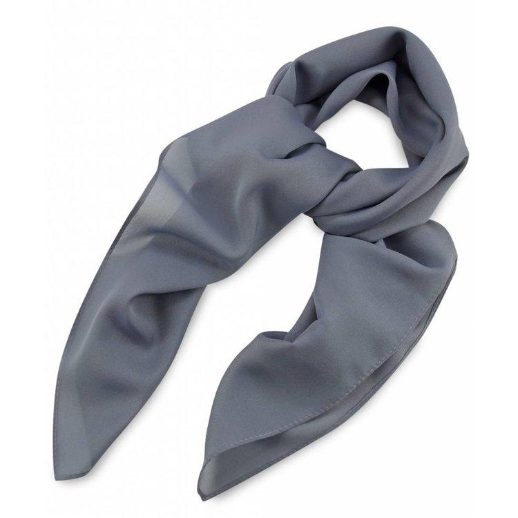 Polyester sjaal Grijs 75x75cm