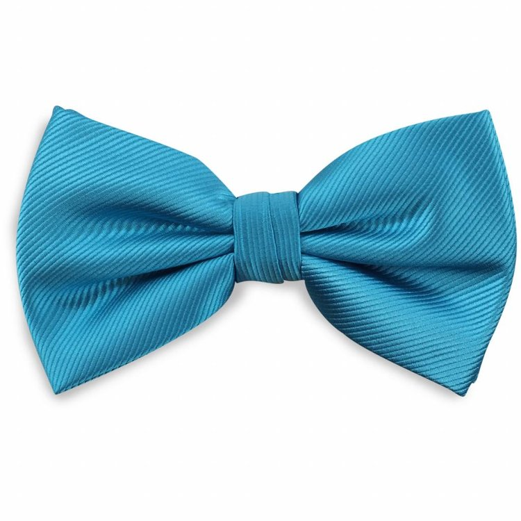 Polyester strik repp Turquoise