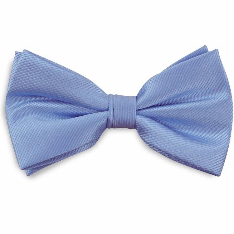 Polyester strik repp Lichtblauw