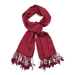 Pashmina sjaal Premium - Kleur Bordeauxrood
