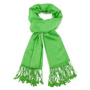 Pashmina sjaal Premium - Kleur Appelgroen