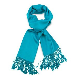 Pashmina sjaal Premium - Kleur Turquoise