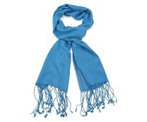 Pashmina sjaal Premium - Processblue