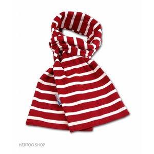 Modas Bretonse streepsjaal Rood-Wit