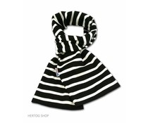 Bretonse streepsjaal Zwart-wit
