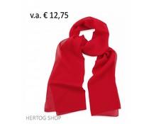 Sjaal Premium Rood