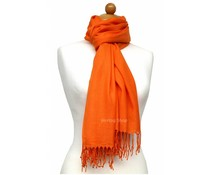 Pashmina sjaal Premium - Oranje