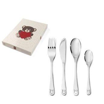 Zilverstad Children's cutlery set Bear with Heart 4-piece 682803