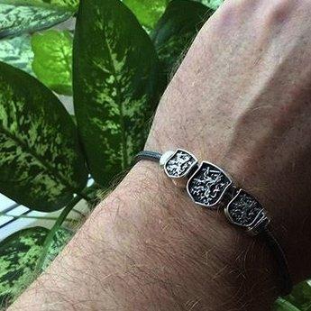 OHM Beads Dirty Armband WHT01818