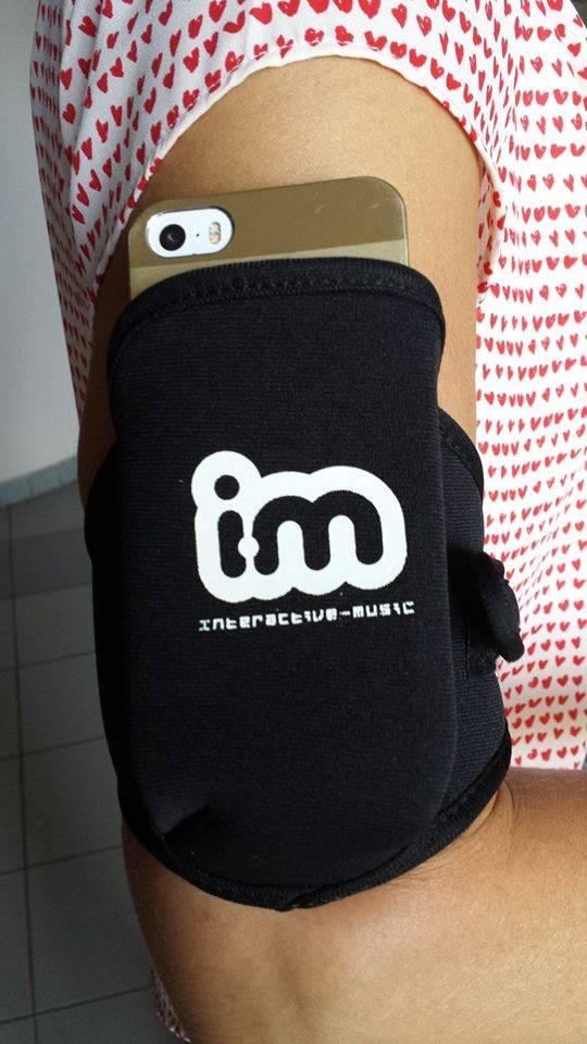 Interactive Music IM ARM BELT