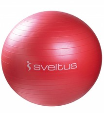 Sveltus Anti-burst ball Ø 65 cm - Red
