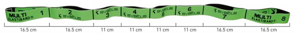 Sveltus MULTI ELASTIBAND - green 10kg