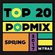 multitrax Top 20 PopMix Spring 2017